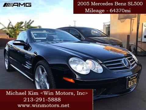 2005 Mercedes-Benz SL-Class for sale at Win Motors Inc. in Los Angeles CA