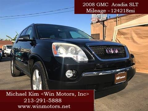 2008 GMC Acadia for sale at Win Motors Inc. in Los Angeles CA