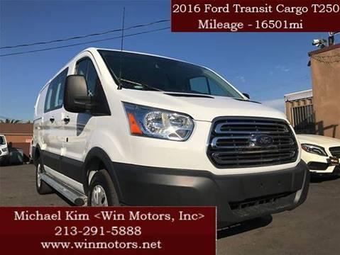 Cargo Vans For Sale In California Carsforsale Com