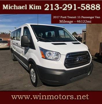 2017 Ford Transit Wagon for sale at Win Motors Inc. in Los Angeles CA