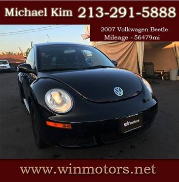 2007 Volkswagen New Beetle for sale at Win Motors Inc. in Los Angeles CA