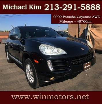 2009 Porsche Cayenne for sale at Win Motors Inc. in Los Angeles CA