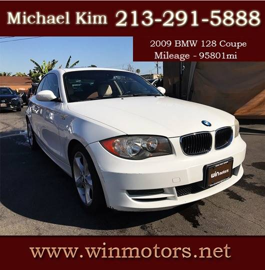 What Is Bmw Sulev: 2009 Bmw 1 Series 128i 2dr Coupe SULEV In Los Angeles CA