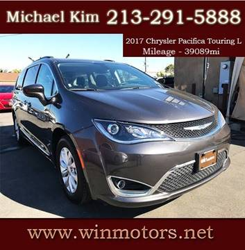 2017 Chrysler Pacifica for sale at Win Motors Inc. in Los Angeles CA
