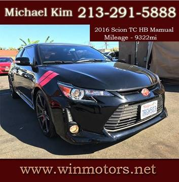 2016 Scion tC for sale at Win Motors Inc. in Los Angeles CA