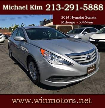 2014 Hyundai Sonata for sale at Win Motors Inc. in Los Angeles CA