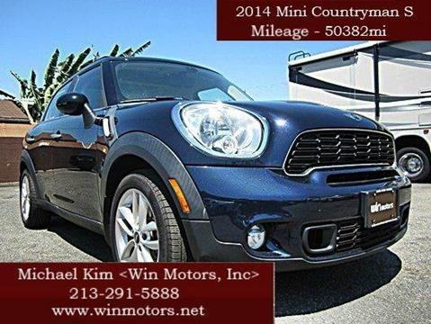 2014 MINI Countryman for sale at Win Motors Inc. in Los Angeles CA