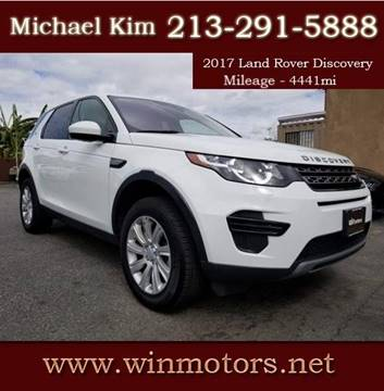 2017 Land Rover Discovery Sport for sale at Win Motors Inc. in Los Angeles CA