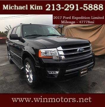 2017 Ford Expedition for sale at Win Motors Inc. in Los Angeles CA