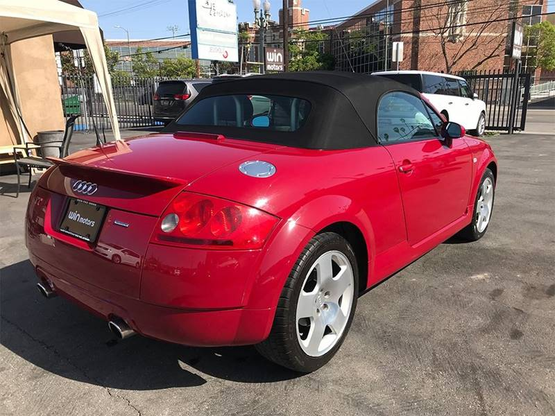 2002 Audi Tt Awd 225hp Quattro 2dr Roadster In Los Angeles Ca Win