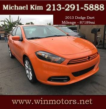 2013 Dodge Dart for sale at Win Motors Inc. in Los Angeles CA
