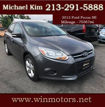 2013 Ford Focus for sale at Win Motors Inc. in Los Angeles CA