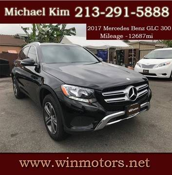 2017 Mercedes-Benz GLC for sale at Win Motors Inc. in Los Angeles CA