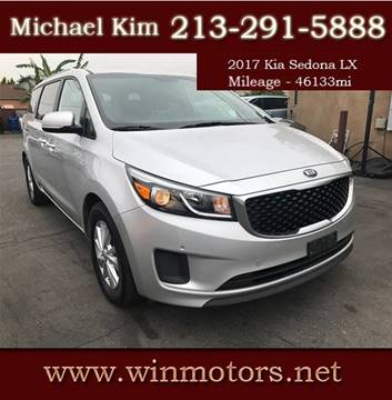 2017 Kia Sedona for sale at Win Motors Inc. in Los Angeles CA