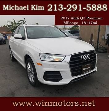 2017 Audi Q3 for sale at Win Motors Inc. in Los Angeles CA