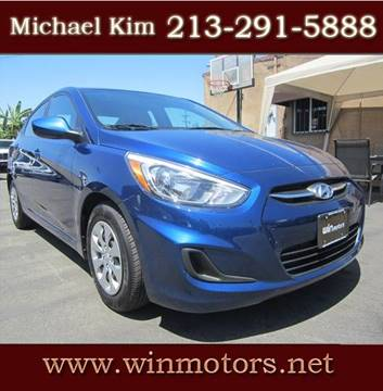 2016 Hyundai Accent for sale at Win Motors Inc. in Los Angeles CA