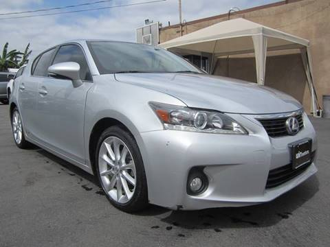 2013 Lexus CT 200h for sale at Win Motors Inc. in Los Angeles CA
