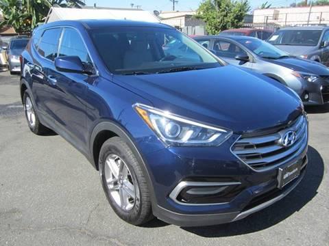 2017 Hyundai Santa Fe Sport for sale at Win Motors Inc. in Los Angeles CA