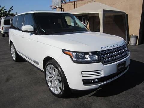 2015 Land Rover Range Rover for sale at Win Motors Inc. in Los Angeles CA