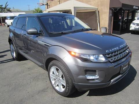2015 Land Rover Range Rover Evoque for sale at Win Motors Inc. in Los Angeles CA
