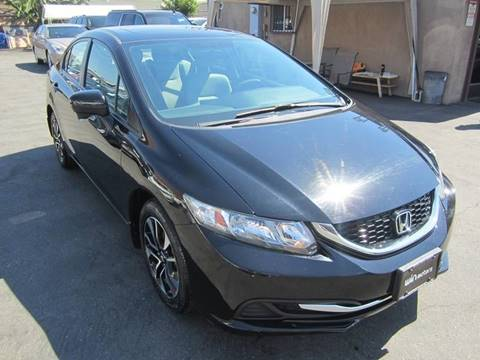 2014 Honda Civic for sale at Win Motors Inc. in Los Angeles CA