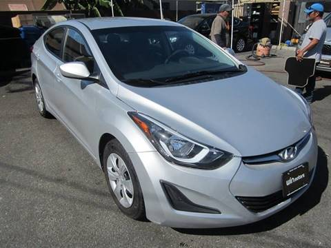 2016 Hyundai Elantra for sale at Win Motors Inc. in Los Angeles CA