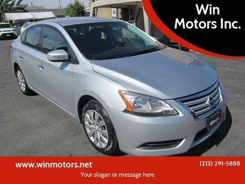 2015 Nissan Sentra for sale at Win Motors Inc. in Los Angeles CA