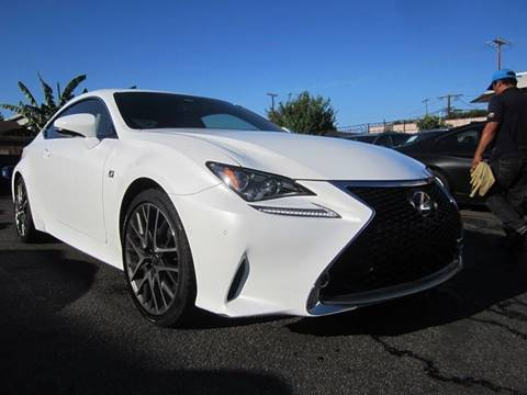 2015 Lexus RC 350 for sale at Win Motors Inc. in Los Angeles CA