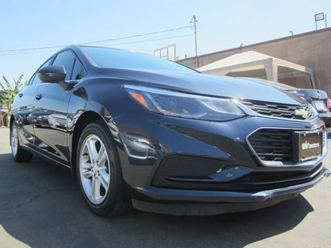 2016 Chevrolet Cruze for sale at Win Motors Inc. in Los Angeles CA