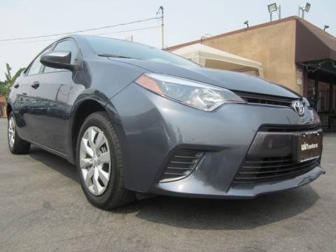 2016 Toyota Corolla for sale at Win Motors Inc. in Los Angeles CA