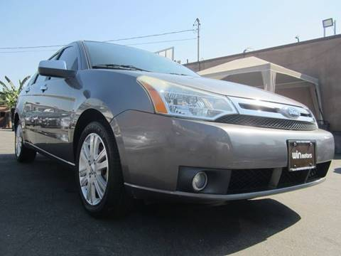 2010 Ford Focus for sale at Win Motors Inc. in Los Angeles CA