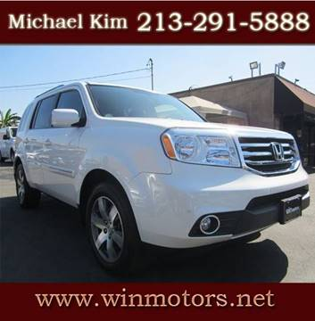 2015 Honda Pilot for sale at Win Motors Inc. in Los Angeles CA