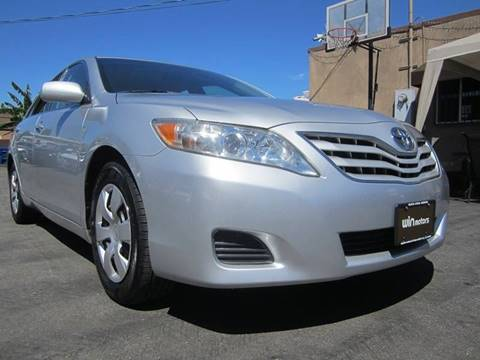 2011 Toyota Camry for sale at Win Motors Inc. in Los Angeles CA
