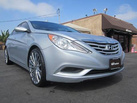 2012 Hyundai Sonata for sale at Win Motors Inc. in Los Angeles CA