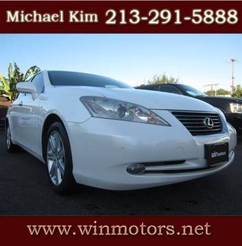 2009 Lexus ES 350 for sale at Win Motors Inc. in Los Angeles CA