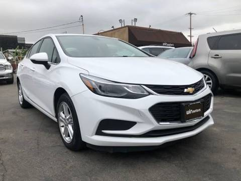 2017 Chevrolet Cruze for sale at Win Motors Inc. in Los Angeles CA