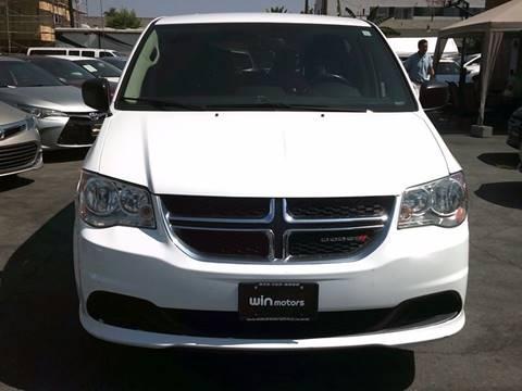 2016 Dodge Grand Caravan for sale in Los Angeles, CA