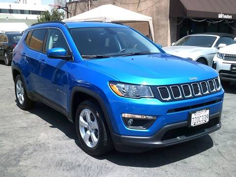 2018 Jeep Compass for sale at Win Motors Inc. in Los Angeles CA
