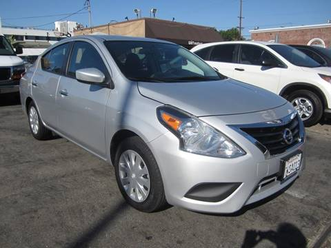 2017 Nissan Versa for sale in Los Angeles, CA