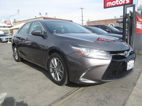 2017 Toyota Camry for sale in Los Angeles, CA