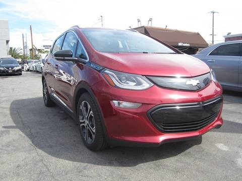 2017 Chevrolet Bolt EV for sale at Win Motors Inc. in Los Angeles CA
