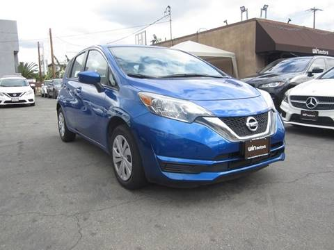 2017 Nissan Versa Note SV for sale at Win Motors Inc. in Los Angeles CA