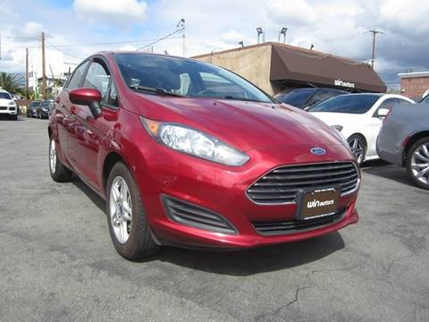 2017 Ford Fiesta SE for sale at Win Motors Inc. in Los Angeles CA