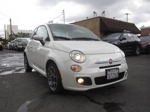 2015 FIAT 500 Sport for sale at Win Motors Inc. in Los Angeles CA