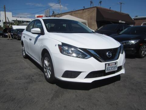 2019 Nissan Sentra SV for sale at Win Motors Inc. in Los Angeles CA