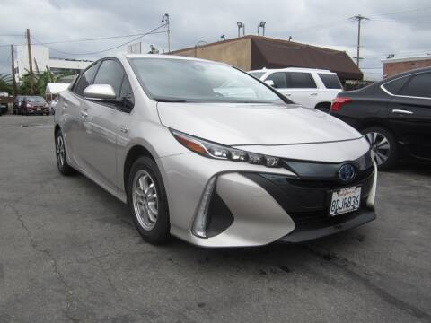 2017 Toyota Prius Prime for sale at Win Motors Inc. in Los Angeles CA
