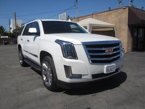 2017 Cadillac Escalade for sale at Win Motors Inc. in Los Angeles CA