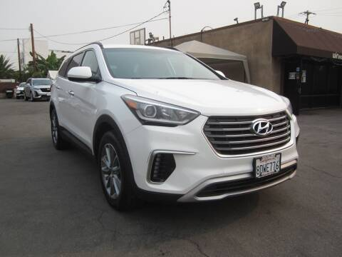 2018 Hyundai Santa Fe for sale at Win Motors Inc. in Los Angeles CA