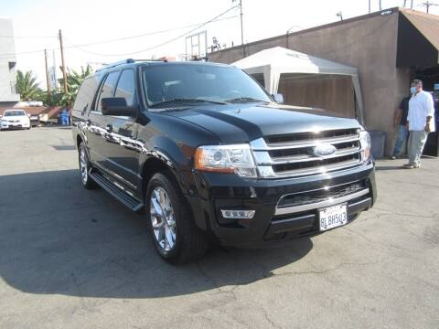 2017 Ford Expedition EL for sale at Win Motors Inc. in Los Angeles CA