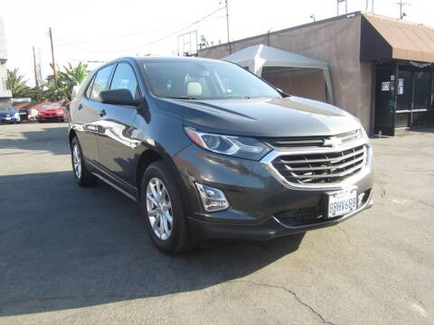 2018 Chevrolet Equinox for sale at Win Motors Inc. in Los Angeles CA